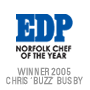 EDP norfolk chef of the year award winner 2005 Chris Buzz Busby